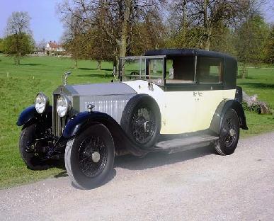 1929 Rolls Royce Phantom Sedanca