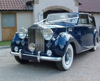 Blue Baron - Rolls Royce Silver Wraith Hire